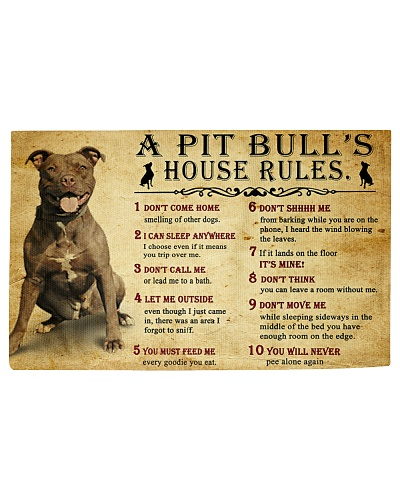 Pit Bull House Rules Vintage