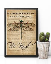 Vintage Dictionary Be Kind Dragonfly 11x17 Poster lifestyle-poster-8