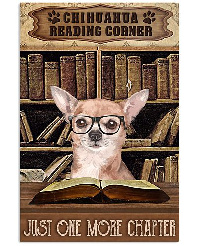 Reading Corner Book Chihuahua
