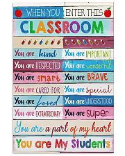 Teacher You Are A Part Of My Heart 11x17 Poster front