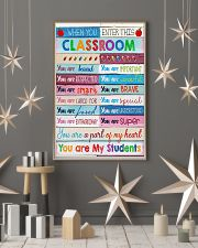 Teacher You Are A Part Of My Heart 11x17 Poster lifestyle-holiday-poster-1