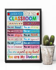 Teacher You Are A Part Of My Heart 11x17 Poster lifestyle-poster-8