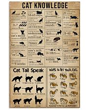 Knowledge Cats 11x17 Poster front