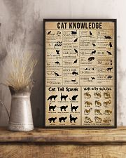 Knowledge Cats 11x17 Poster lifestyle-poster-3
