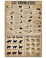Knowledge Cats 16x24 Poster front