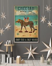 Beach Life Sandy Toes  Cheetah 11x17 Poster lifestyle-holiday-poster-1
