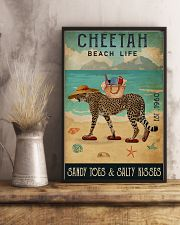 Beach Life Sandy Toes  Cheetah 11x17 Poster lifestyle-poster-3