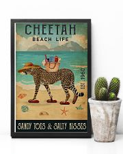 Beach Life Sandy Toes  Cheetah 11x17 Poster lifestyle-poster-8