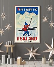That's What I Do Skiing 16x24 Poster lifestyle-holiday-poster-1