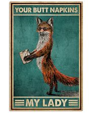 Your Butt Napkin My Lady Fox 16x24 Poster front