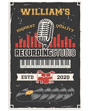 Personalized Audio Mixing Recording Studio 16x24 Poster front