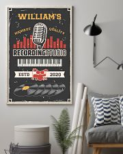 Personalized Audio Mixing Recording Studio 16x24 Poster lifestyle-poster-1