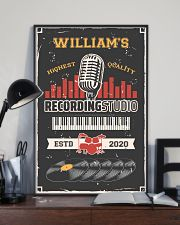 Personalized Audio Mixing Recording Studio 16x24 Poster lifestyle-poster-2