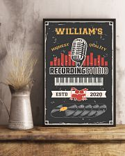 Personalized Audio Mixing Recording Studio 16x24 Poster lifestyle-poster-3