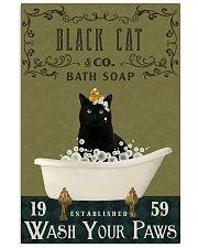 Olive Bath Soap Company Black Cat 11x17 Poster front