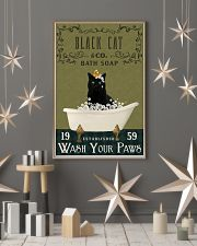 Olive Bath Soap Company Black Cat 11x17 Poster lifestyle-holiday-poster-1