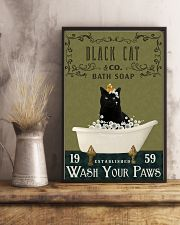 Olive Bath Soap Company Black Cat 11x17 Poster lifestyle-poster-3