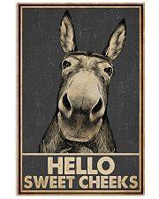 Gray Hello Sweet Cheeks Donkey 16x24 Poster front