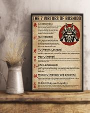 The 7 Virtues Of Bushido 11x17 Poster lifestyle-poster-3