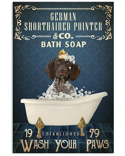 Navy Bath Soap Company German Shorthaired Pointer