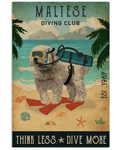 Vintage Diving Club Maltese