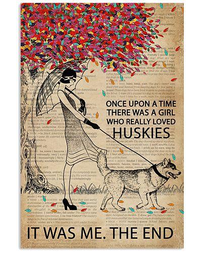 Dictionary Girl Once Upon Husky