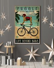 Cycling Club Puggle 11x17 Poster lifestyle-holiday-poster-1