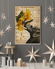 Music Sheet Sunflower My Sunshine Elephant 11x17 Poster lifestyle-holiday-poster-1