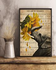 Music Sheet Sunflower My Sunshine Elephant 11x17 Poster lifestyle-poster-3