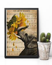 Music Sheet Sunflower My Sunshine Elephant 11x17 Poster lifestyle-poster-8