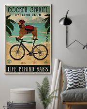 Cycling Club Cocker Spaniel 11x17 Poster lifestyle-poster-1