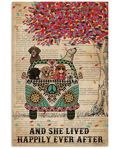 Dictionary She Lived Happily Labrador Retriever