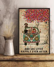 Dictionary She Lived Happily Labrador Retriever 11x17 Poster lifestyle-poster-3