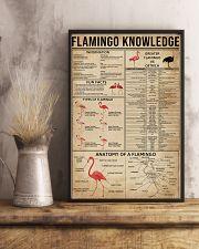 Flamingo Knowledge 16x24 Poster lifestyle-poster-3