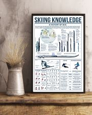Blue Skiing Knowledge 16x24 Poster lifestyle-poster-3