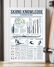 Blue Skiing Knowledge 16x24 Poster lifestyle-poster-4