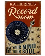 Personalized Vinyl Lose Your Mind 16x24 Poster front