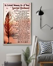 In Loving Memory Of My Husband Butterfly 16x24 Poster lifestyle-poster-1