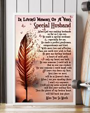 In Loving Memory Of My Husband Butterfly 16x24 Poster lifestyle-poster-4