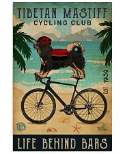 Cycling Club Tibetan Mastiff  11x17 Poster front