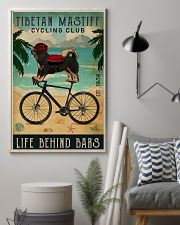 Cycling Club Tibetan Mastiff  11x17 Poster lifestyle-poster-1