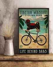 Cycling Club Tibetan Mastiff  11x17 Poster lifestyle-poster-3