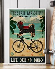 Cycling Club Tibetan Mastiff  11x17 Poster lifestyle-poster-4