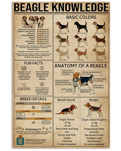 Knowledge Poster Beagle