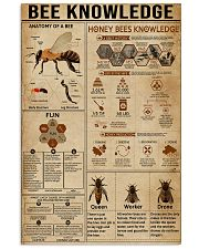 Bee Knowledge  16x24 Poster front