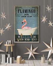 Vintage Bath Soap Flamingo 11x17 Poster lifestyle-holiday-poster-1