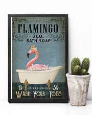 Vintage Bath Soap Flamingo 11x17 Poster lifestyle-poster-8
