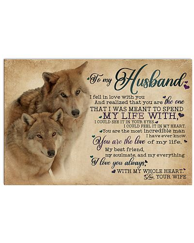 To My Husband I Fell In Love Wolf