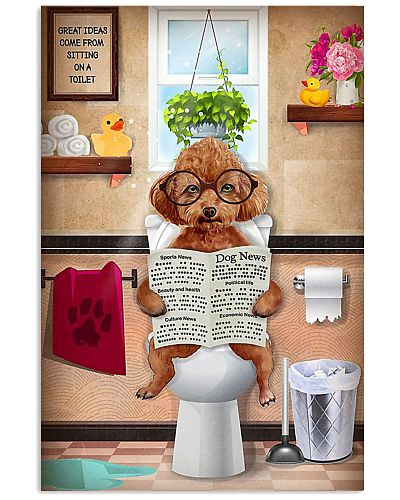Poodle Reading Dog News