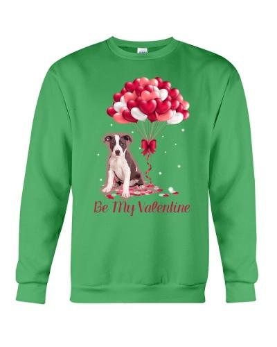 Be My Valentine Pit Bull
